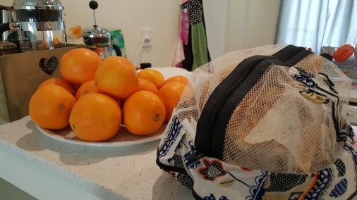Kit representação de Valencia: laranjas e pan de pueblo